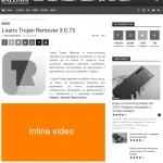 Inline video